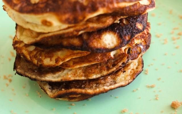 Glutenfri amerikanske pandekager