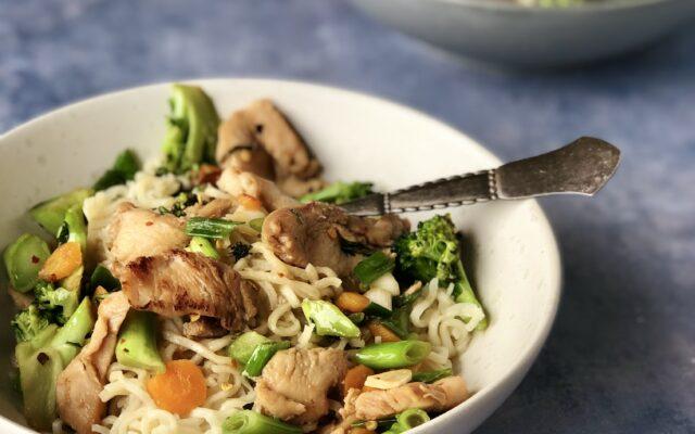 Kyllingewok m. Broccoli og soyasovs